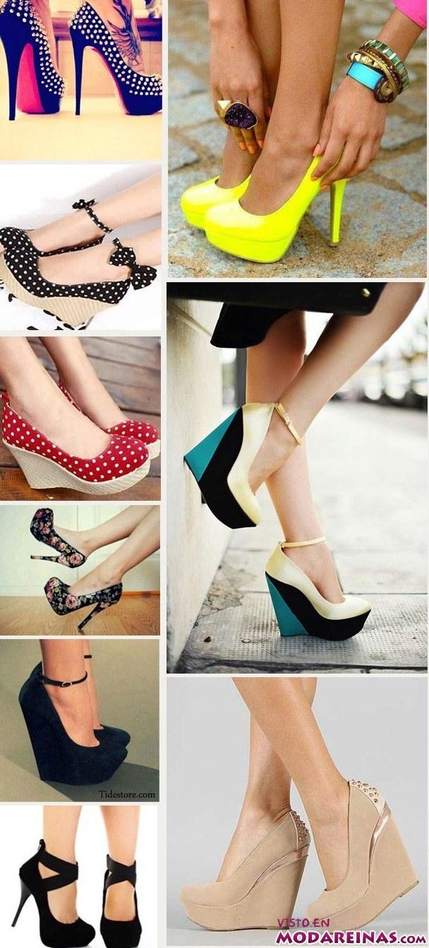 colección de zapatos modernos