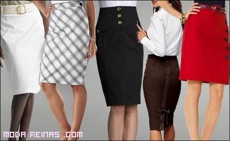 tendencias sexy en faldas