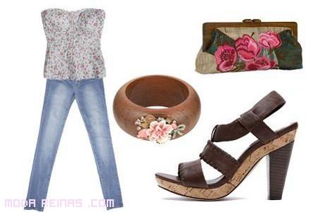 combinar jeans a la moda