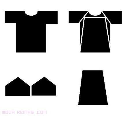 patrones para hacer un vestido