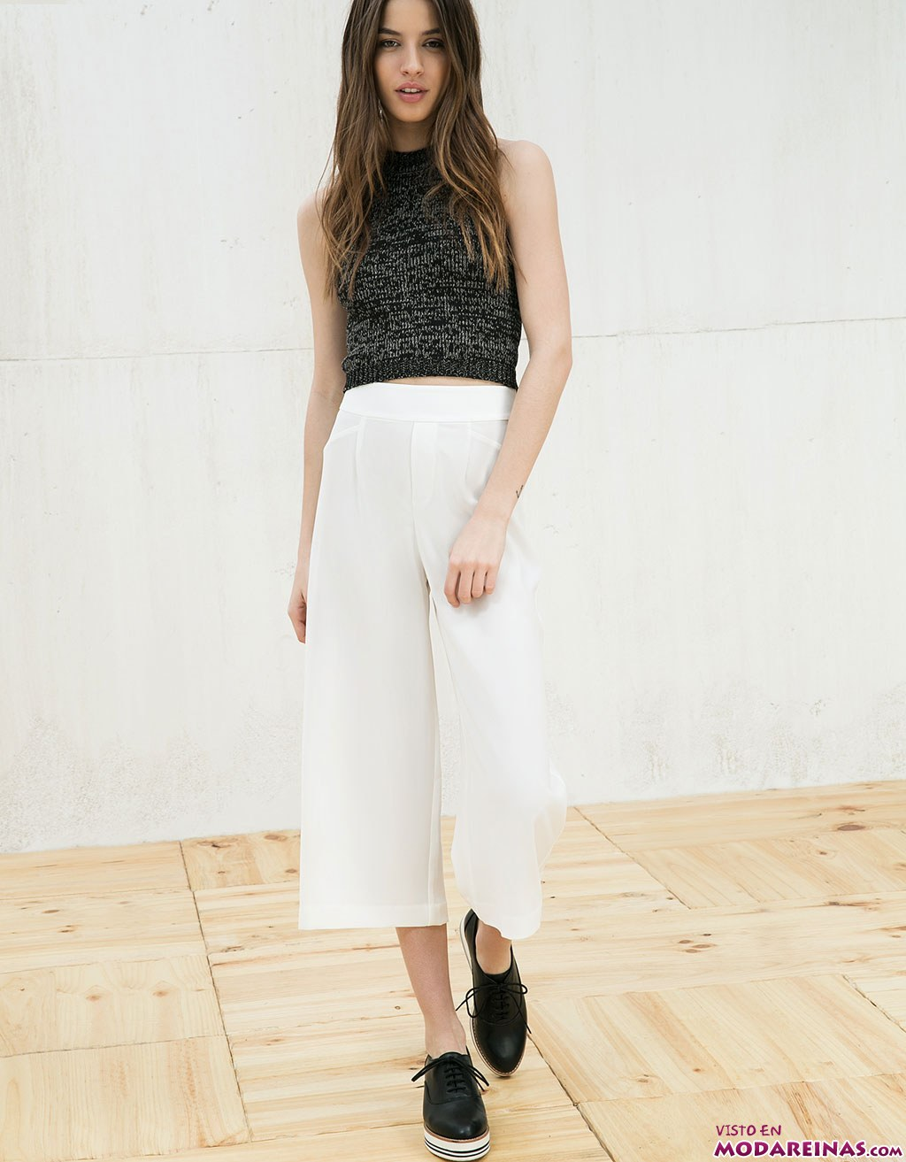 culotte en color blanco