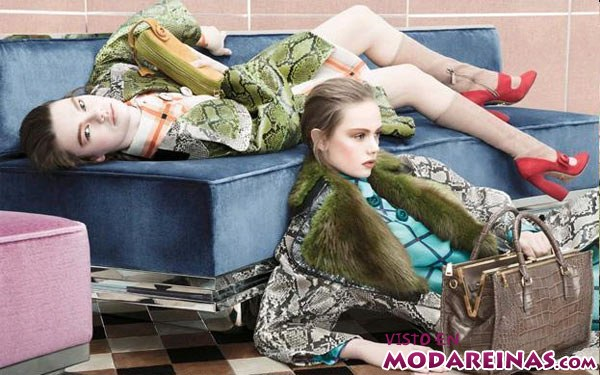 estampado pitón en la moda femenina