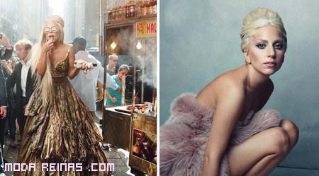 Estilo Gaga en vanity fair