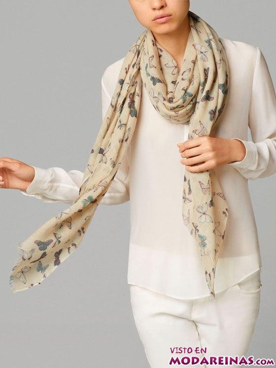 foulard de mariposa