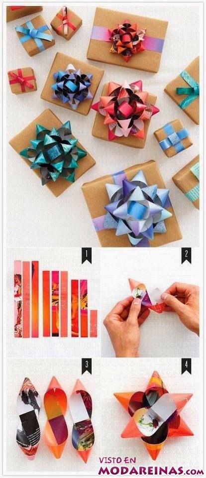 lacitos para envolver regalos