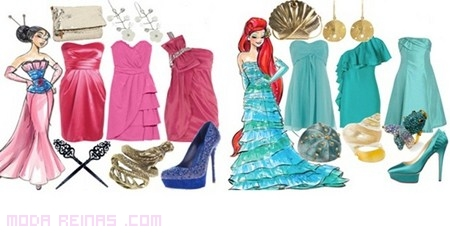 colores de ropa Disney a la moda