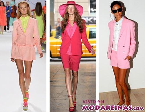 looks para verano en rosa