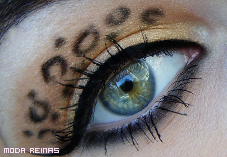 maquillaje-de-ojos-con-estampado-de-leopardo