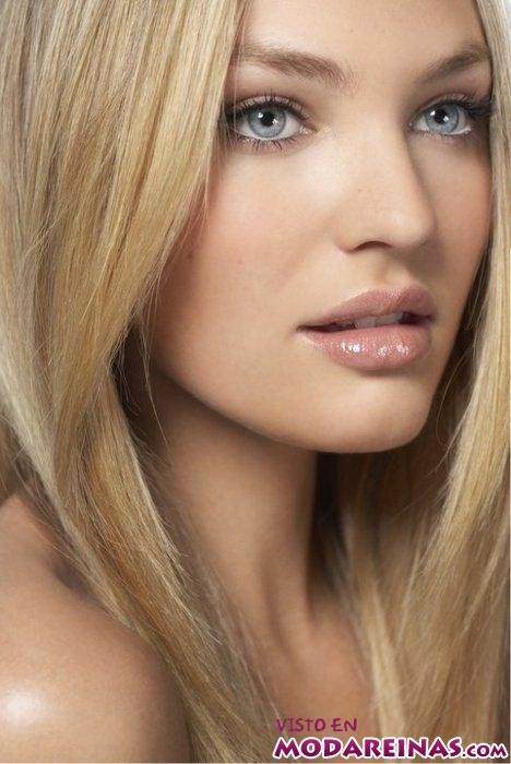maquillaje natural con labios marrones