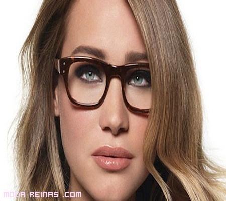 mujeres famosas con gafas