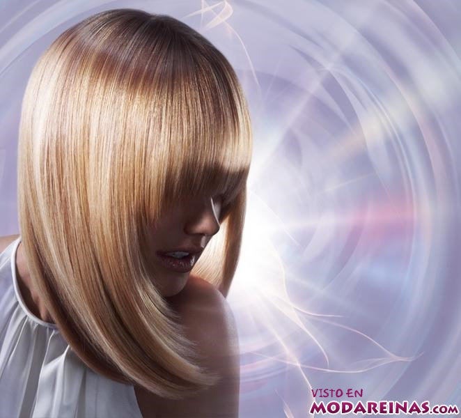 mechas para iluminar el cabello