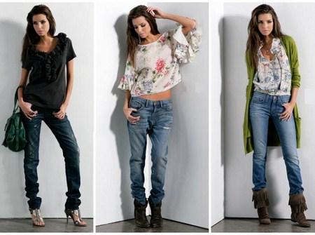 tendencia jeans para el año 2012