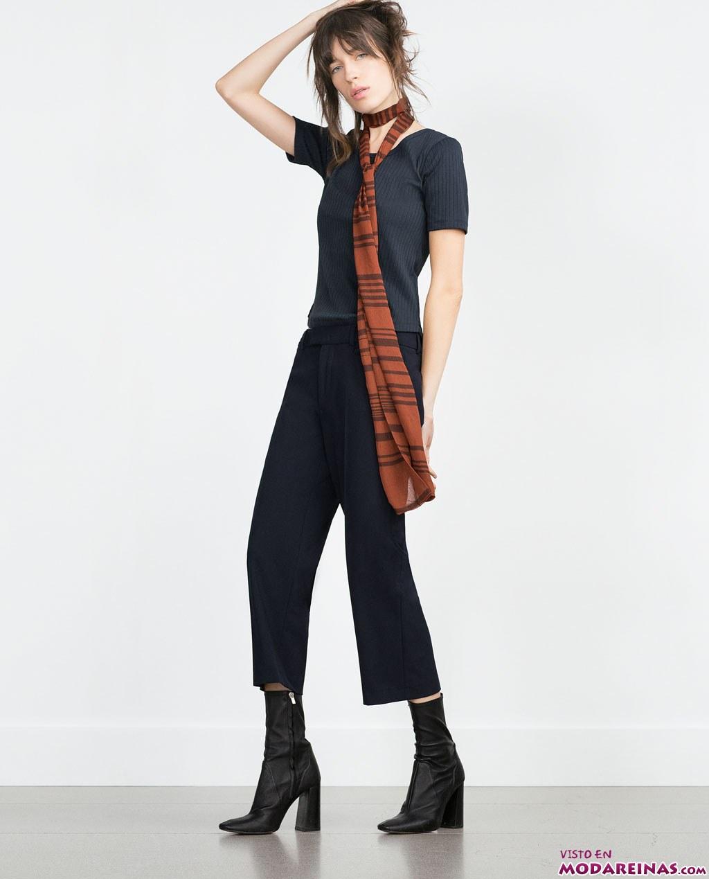 pantalon cropp
