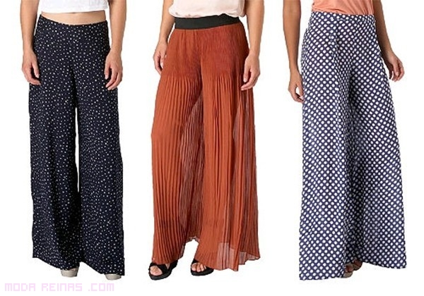 pantalones de lunares
