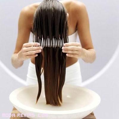 cabello fácil de peinar