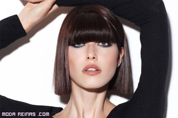 cortes de pelo con flequillo