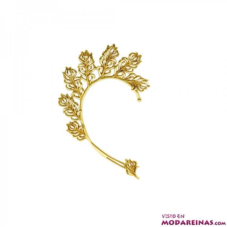 pendiente ear-ring dorado