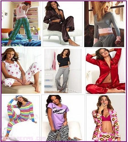 pijamas estampados de moda