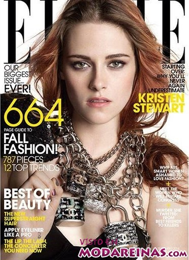 Portada Elle Septiembre 2014