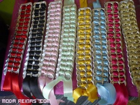pulseras recicladas a la moda