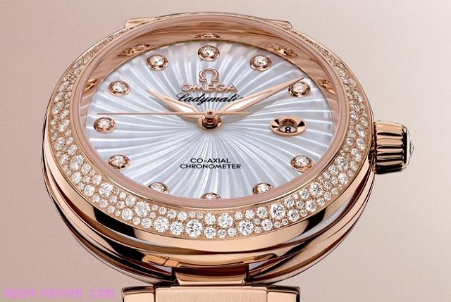 relojes en oro y diamantes