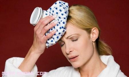 bolsas de hielo contra el dolor de cabeza