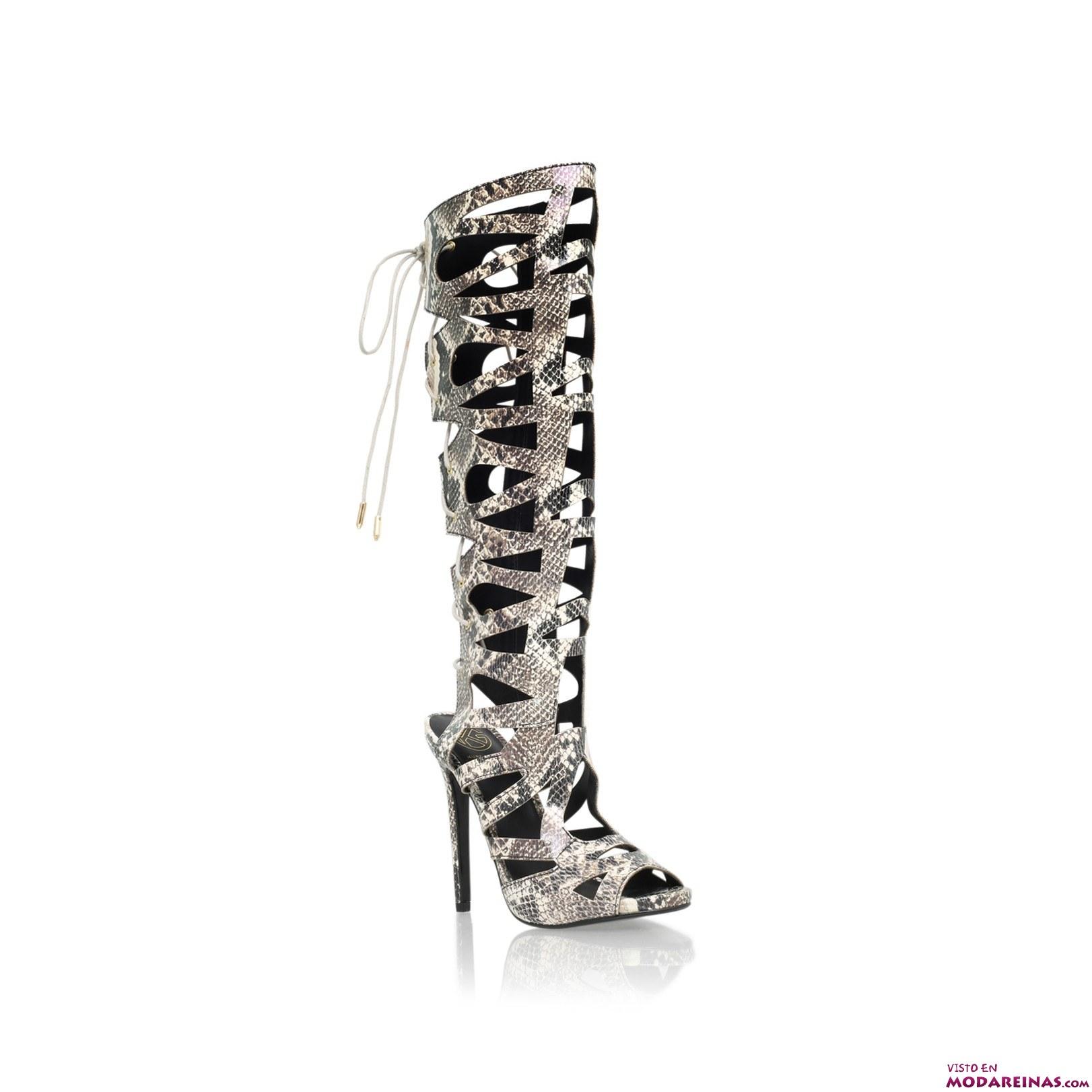 sandalias de estilo gladiador a la moda