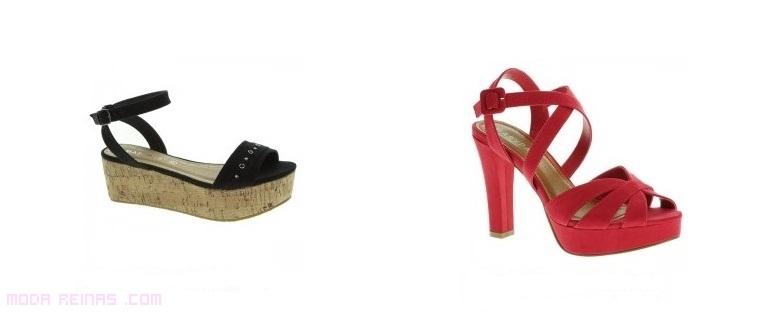 zapatos son plataforma para verano