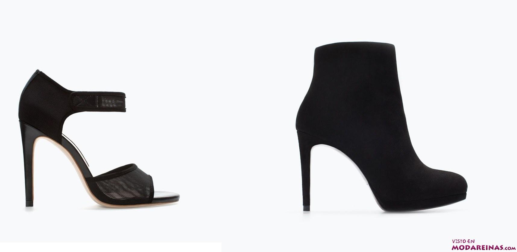 sandalias y botines de zara