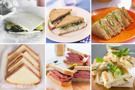 sandwiches para cenas