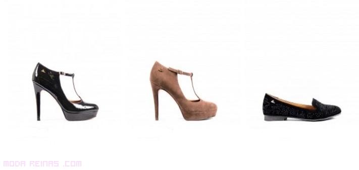 zapatos de tacón con hebilla