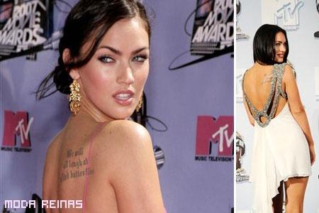Megan Fox y sus tatuajes