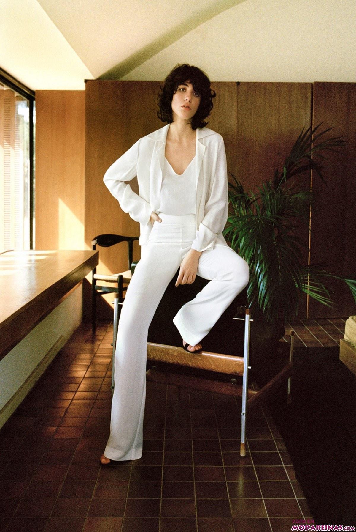 traje blanco de mango 2015