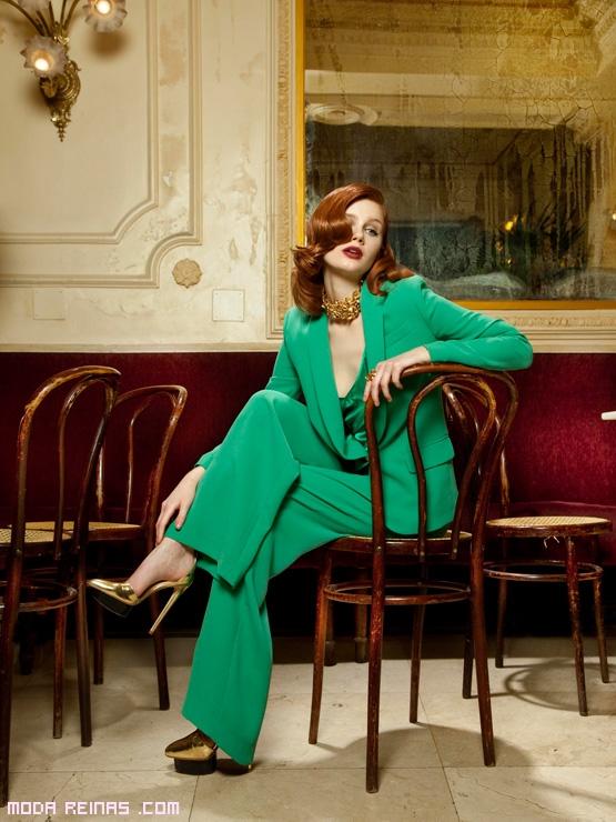 trajes elegantes a la moda