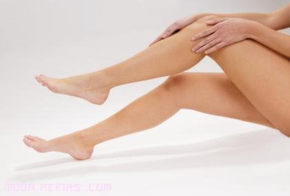 piernas sanas para el verano