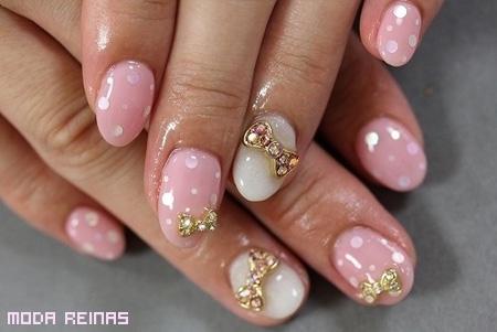 unas-rosadas