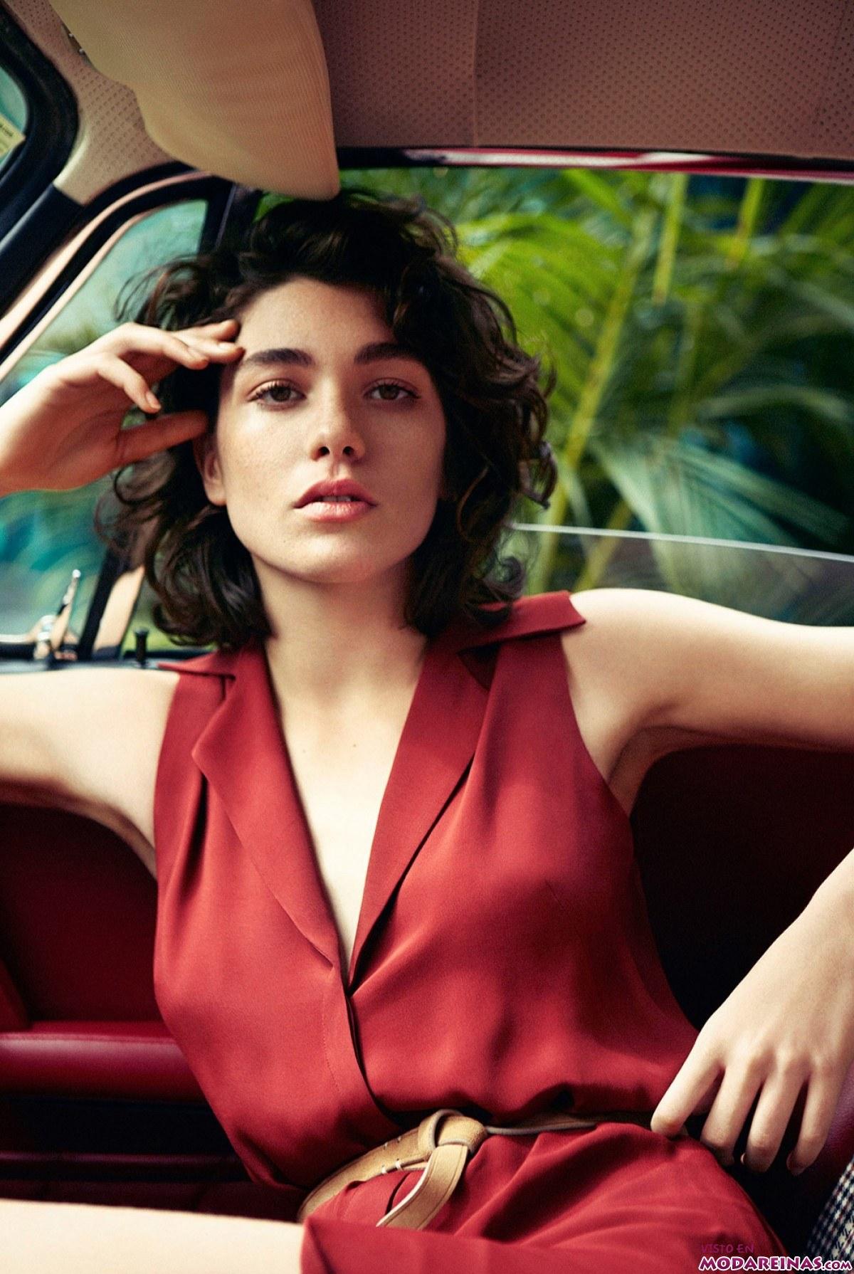 vestido en rojo de mango premium