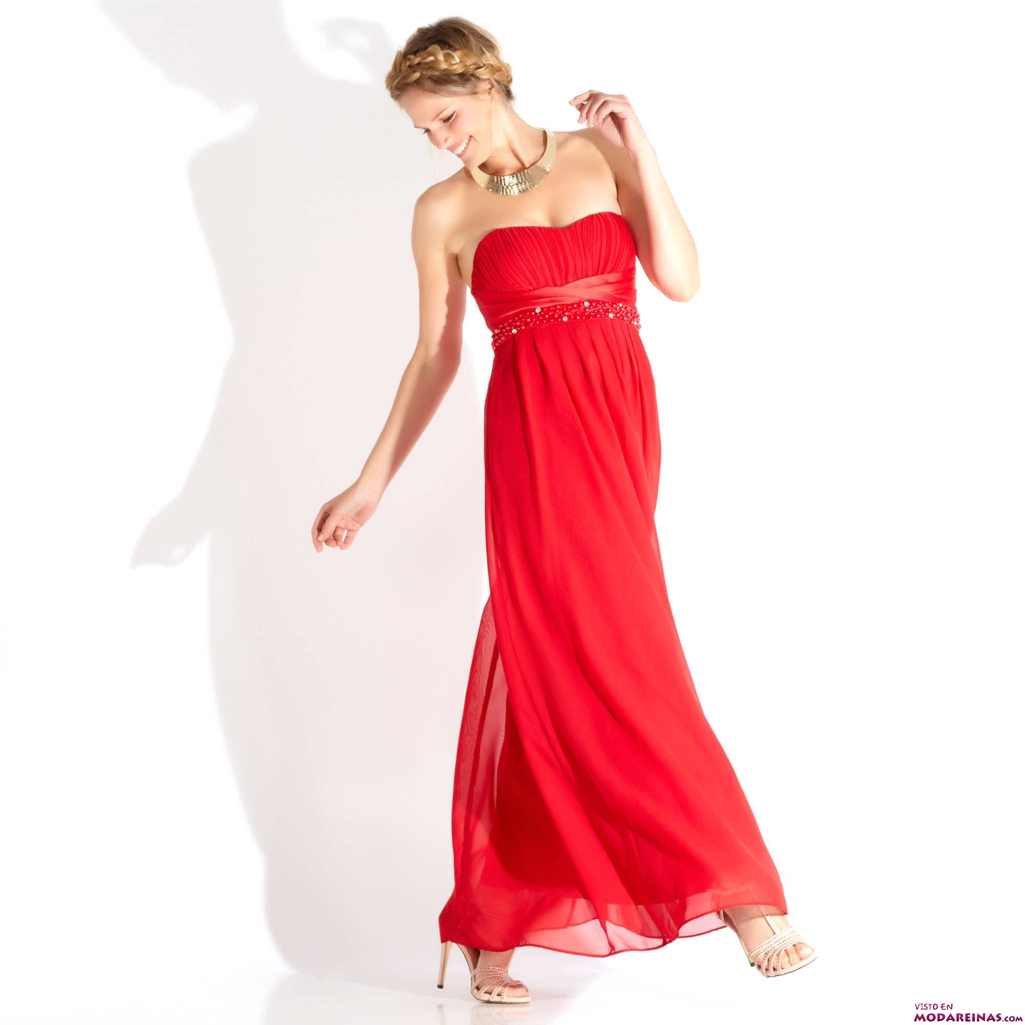 vestido largo kiabi