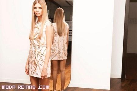 vestido corto de versace para h&m