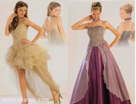 vestidos falda larga