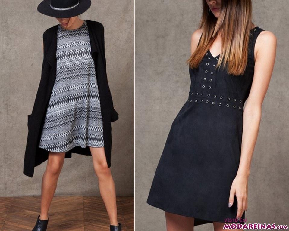 vestidos cortos con rebajas de stradivarius