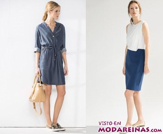 vestidos cortos en color de cortefiel
