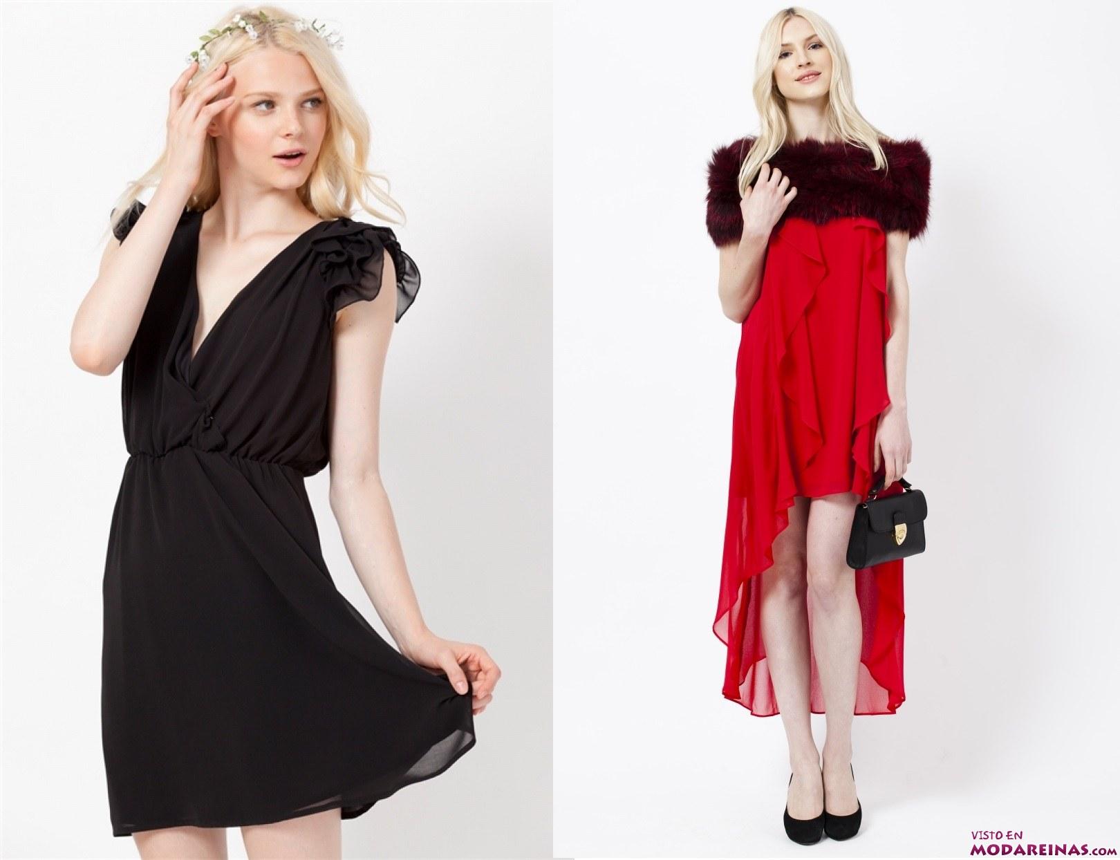 vestidos cortos y asimétricos poete