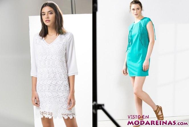 vestidos cortos y sencillos para verano