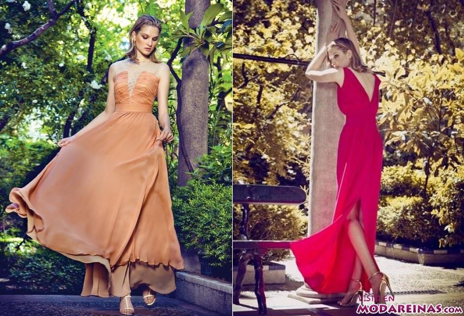 vestidos en color Dolores Promesas