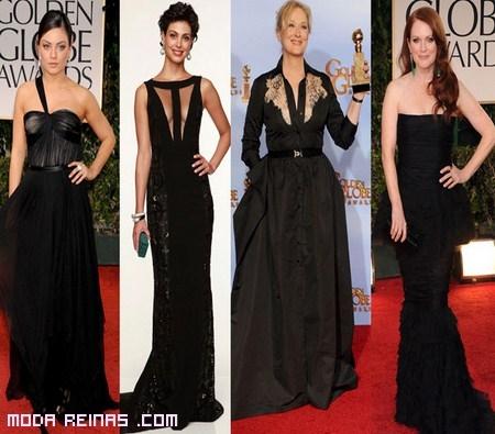 Premiadas en los globos de oro 2012