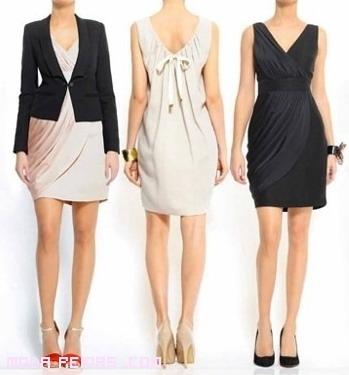 vestidos con blazers a la moda