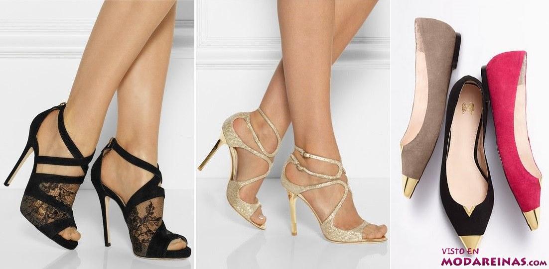 zapatos de colores y bailarinas