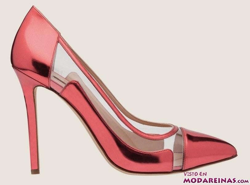 zapatos rojos de tacón
