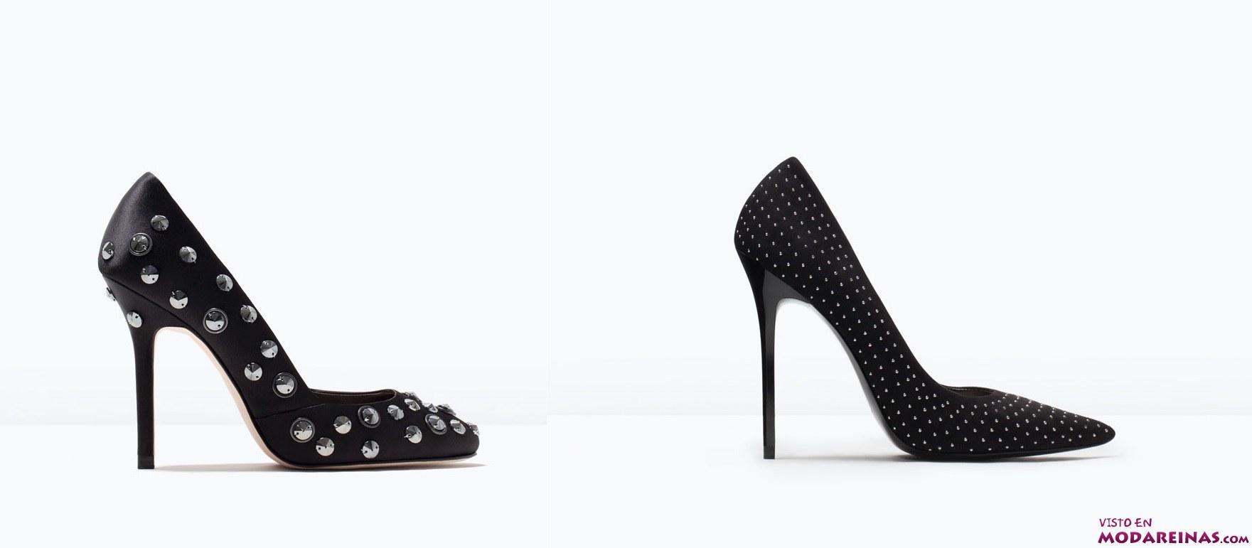 zapatos salón de Zara